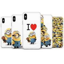 Minions Phone Case Cover, Fits iPhone Rapper Phone Case Silicon