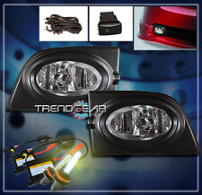 2006 2007 2008 HONDA CIVIC DX EX LX SI SEDAN 4DR BUMPER CHROME FOG LIGHTS+3K HID