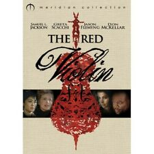 The Red Violin (1998) Samuel L Jackson, New Meridian Collection RARE DVD