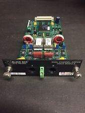 Black Box MT252C DUAL CHANNEL ADPCM VOICE MODULE with certs