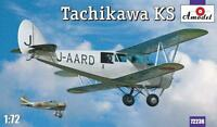 Amodel 72236 Tachikawa KS aircraft, 1/72 scale plastic model kit