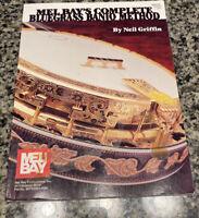 Mel Bay's Complete Bluegrass Banjo Method Griffin  1993 Paperback