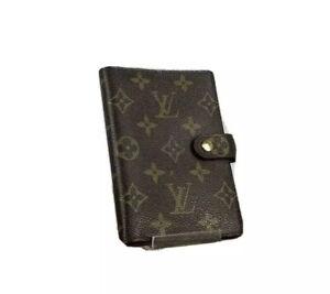 Louis Vuitton LV Monogram Agenda PM R20005 used 4-24-F46 412S54