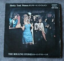 Rolling Stones, honky tonk women / you can't always get ..., SP - 45 tours Japon