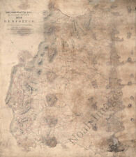 Map of Bedford County Virginia c1864 24x28