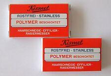 CRP-SOLINGEN 2 x 6er-Pack Klingen für Kismet-Rasiermesser