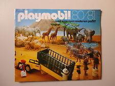 Playmobil Katalog 1980/81