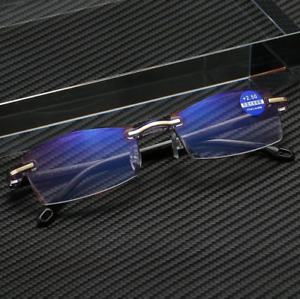 Progressive Dual-Purpose Reading Glasses With High Hardness And Anti-Blue Light