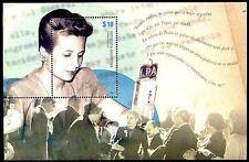 ARGENTINA. (2012) GJ. HB239. Eva Perón. Mini-sheet. MNH Excellent condition.