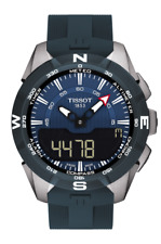 *BRAND NEW* Tissot Men's T-Touch Expert Solar II Blue Watch T1104204704100