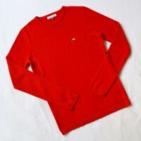BELLA FREUD NWT RED DOG EMBROIDERED CASHMERE LONG SLEEVE SWEATER JUMPER SOFT S