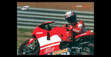 Rare TROY BAYLISS Superbike Action Ducati Motorcycle Racing Premium POSTER