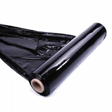 STRONG ROLLS BLACK PALLET STRETCH SHRINK WRAP CAST PACKING CLING FILM