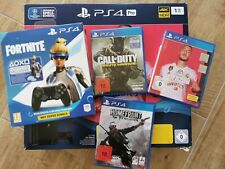 Playstation 4 pro 1 TB, 2 Controller, Fifa20, Fortnite, Call of Duty, Home Front