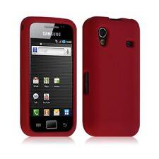 housse étui coque silicone Samsung S5830 Galaxy Ace couleur rouge