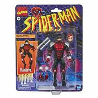 IN STOCK! Spider-Man Retro Marvel Legends Daredevil 6-inch AF by Hasbro