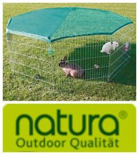 TRIXIE 6243 Outdoor Pen With Netting 8 Panels 80 75 Cm
