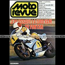 MOTO REVUE N°2583 DUCATI 900 S2 YAMAHA YZR 500 OW60 BMW K 100 SUZUKI RM 80 1982