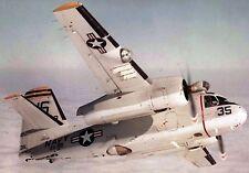 S-2 Tracker Grumman USA ASW Aircraft Airplane Mahogany Wood Model Small New