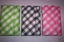 CUTE! Women's Checkered Front Flap WALLET