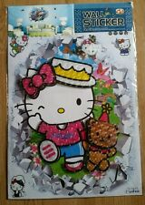 5D HELLO KITTY large vinyl self adhesive pop-up wall decals stickers