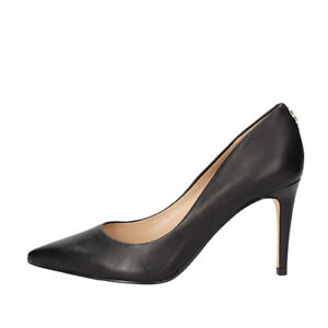 Guess Zapatos Mujer Zapatos de Salón A Punta Bennie de Piel Black FL5BE5LEA08