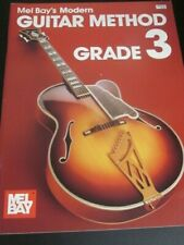Mel Bay Guitar method Grade 3 instruction book-new'old stock' from 1990