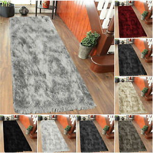 LUXARY SHAGGY GLITTER WASHABLE RUNNER