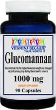 GLUCOMANNAN 1000mg WEIGHT LOSS DIET CHOLESTEROL DIETARY SUPPLEMENT 90 CAPSULES