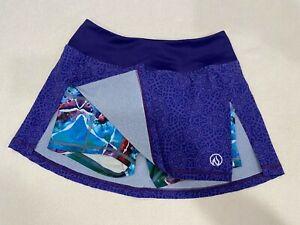 inknburn size 2 skort NWT purple/multi-color
