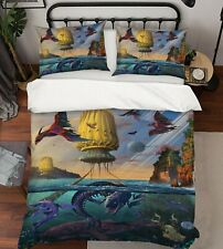 3D Dinosaur Cyris Undiscovered I42 Bed Pillowcases Duvet Cover Quilt Vincent Amy