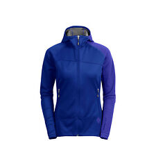 NEW BLACK DIAMOND WOMEN'S FLOW STATE WINDSTOPPER HOODY SMALL SPECTRUM BLUE