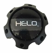 Helo HE878 HE879 HE886 HE900 HE901 HE904 Satin Flat Black Chevy 6 Lug Center Cap