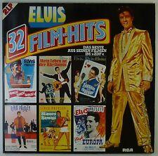 "2x12"" LP - Elvis Presley - 32 Film-Hits - k5990 - washed & cleaned"