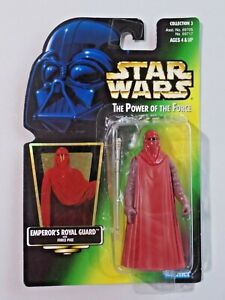 Star Wars The Power of the Force EMPEROR'S ROYAL GUARD Force Pike NIP Kenner