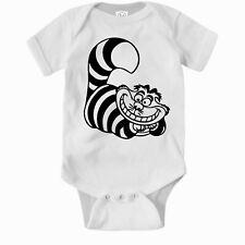 Cheshire Cat Romper. Cute Baby Clothes One Piece Jump Suit Bodysuit