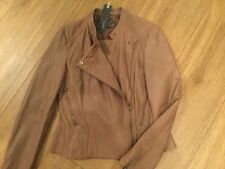 Esprit Collection Lederjacke Leder Gr 38 NEU