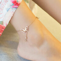 Chain Hollow Accessories Women Foot Crystal Tassel Chain Bracelet Anklet Out