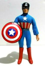MEGO CAPTAIN AMERICA 8 INCH TYPE 2 VINTAGE 1970'S ACTION FIGURE, COMPLETE