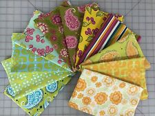 OOP Sandi Henderson Farmers Market Michael Miller Fabric Fat Quarter Bundle