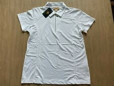 1 NWT SPORT HALEY, WOMEN'S SHIRT, SIZE: LARGE, COLOR: WHITE (T5)