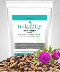 Nutrivity M.Thistle in Tablets for Liver Health, Vitamin C & E Rich Antioxidant