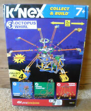 Knex Collect & Build #3 Octopus Whirl with Motor and Instructions