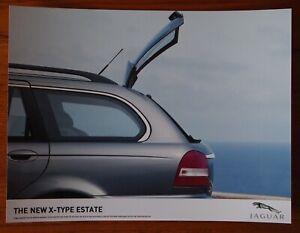 Jaguar New X-Type Estate - Color Press Publicity Photo