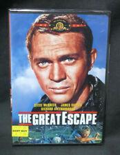 New The Great Escape (Dvd, 1963) Steve McQueen, James Garner, Wwii War Film New