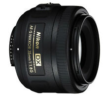 Nikon 35mm f/1.8G AF-S DX Lens for Nikon Digital SLR Cameras *Brand New*
