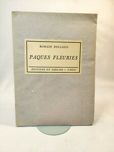 ROMAIN ROLLAND PAQUES FLEURIES E.O. EX. NUM. 1926 EDITION ORIGINALE