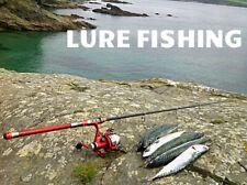 SPINNING ROD BAITCAST ROD SPINCAST COMBO SEA FISHING MACKEREL BASS PIKE PERCH