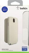 Belkin Premium Protective Ultra Thin Micra Folio Case for Galaxy Note 3 White