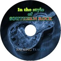 SOUTHERN ROCK IN THE STYLE OF GUITAR BACKING TRACKS CD BEST GREATEST HITS MUSIC